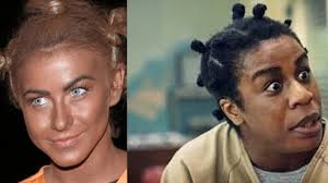 julianne hough blackface for crazy eyes halloween costume youtube