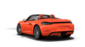 red porsche truck most expensive 2018 porsche boxster 718 gts costs 145 545