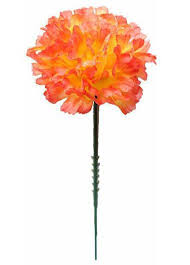 bulk artificial flowers carnations in orange yellow silk flowers flowers afloral