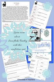 snowflake bentley worksheets 168 best winter reading plans images on pinterest comprehension