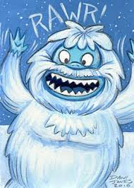 15 ft inflatable bumble snow monster