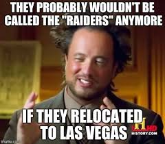 Chargers Raiders Meme - this is all the san diego chargers fans that live in las vegas