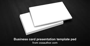 business card presentation template 28 images business card