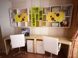 bedroom with study table opened horizontal murphy bed desk murphy
