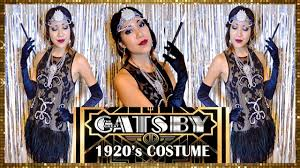 how to make a 1920s hairpiece flapper dress 1920 s great gatsby costume youtube