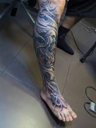 50 3d leg designs for manly ink ideas