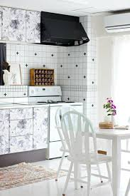 removable wallpaper for kitchen cabinets removable wallpaper renter review sources apartment therapy