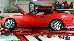 stanced porsche 944 precision 4 wheel alignment rennwerks