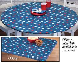Vinyl Table Cover 36 Inch Round Tablecloth With Elastic Vinyl Tablecloth With