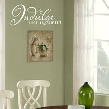 indulge life is sweet kitchen quote wall stickers vinyl home art indulge life is sweet kitchen quote wall stickers vinyl home art decor decal kq9