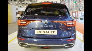renault 7 seater suv renault launch koleos 7 seater suv india to hit on toyota innova