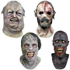 Walking Dead Halloween Costumes Walking Dead Mask Ebay