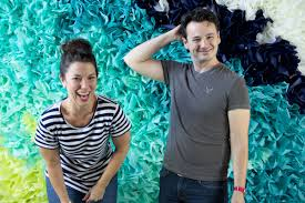 Photo Booth Ideas Diy Ombre Tissue Paper Photobooth Backdrop Lovely Indeed