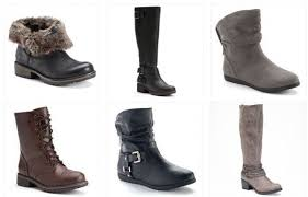 womens boots at kohls kohl s black friday deals today only s boots 12 74