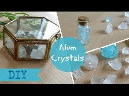 where can i get alum diy alum crystals decor