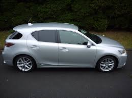 lexus hatchback used satin silver metallic lexus ct 200h for sale surrey