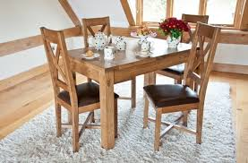 Painted Oak Dining Table And Chairs Chair Good Looking Small Oak Dining Table And Chairs Surprising