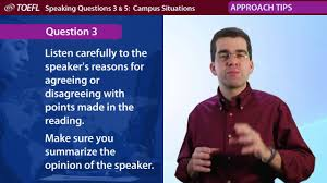 sample toefl essay questions inside the toefl test speaking questions by ets youtube