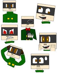 minecraft story mode magnus sketches by 1blockforward on deviantart