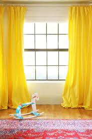 Mustard Colored Curtains Inspiration The Way To Brighten Up A Room With Yellow Curtains