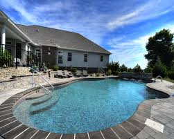 Mountain Lake Pool Design by Beautiful In Ground Pools