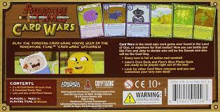 wars cards adventure time card wars finn vs jake across the board cafe