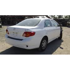 2010 Corolla Interior 2010 Toyota Corolla Parts Car White With Gray Interior 4