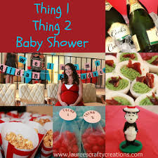 Thing One And Thing Two Party Decorations Thing 1 And Thing 2 Baby Shower Ideas Babywiseguides Com