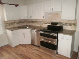 Backsplash With Venetian Gold Granite - integrity installations a division of front range