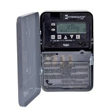 how to set light timer intermatic shop intermatic 30 amp digital residential hardwired lighting timer