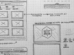 30 great examples of web design sketches designbeep