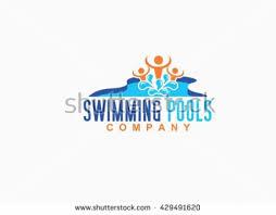 swimming pool logo design swimming logo stock images royalty free