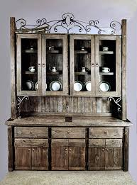 dining room hutch with wine rack 6621