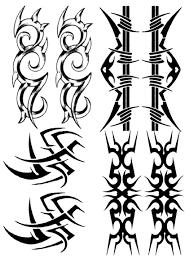 tribal bracelets temporary tattoos temporary sheets