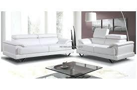 canap 3 2 places canape cuir blanc design design dangle iv en angle canape dangle