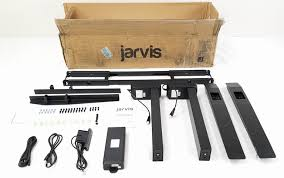 jarvis electric adjustable height standing desk frame black jarvis electric adjustable height standing desk frame black best