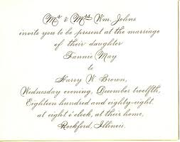 Wedding Programs Wording Examples Sample Wedding Invitations And Response Cards Tags Sample Of