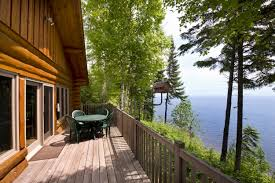 Building A Small Cabin In The Woods by Log Cabin Rental Lutsen Resort North Shore