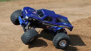 traxxas monster jam rc trucks 1 10 bigfoot 2wd monster truck rtr firestone horizonhobby