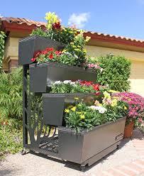 20 beautiful flower bed ideas for your garden rooftop gardens
