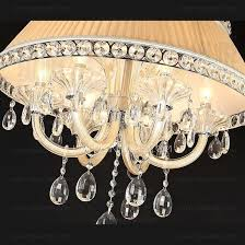 Crystal Drum Shade Chandelier Shade For Chandelier 6 Light K9 Crystal