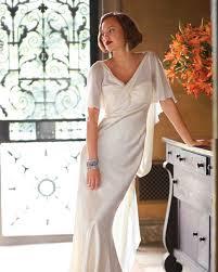 classic wedding dress cuts by decade martha stewart weddings