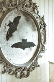 halloween picture frame crafts make a vintage inspired halloween mirror jennifer rizzo