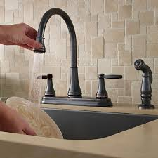 price pfister kitchen faucet diverter valve tuscan bronze glenfield 2 handle kitchen faucet f 036 4gfy