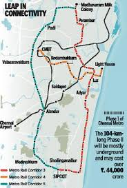 new light rail projects detailed project report for phase ii of metro rail ready the hindu
