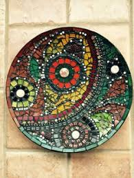 mosaic rotating plate mosaic lazy susan mosaic plate mosaic home