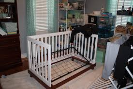 How To Convert Crib To Bed by Convert Crib To Toddler Bed Rails Decoration