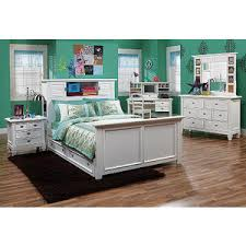 Belmar White  Pc Full Bookcase Bedroom  Rooms To Go Kids - Rooms to go kids bedroom