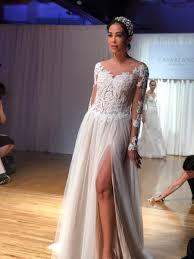wedding dress new york casablanca bridal new york bridal fashion week 2017 rayce pr