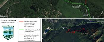 Seattle Bike Trail Map by New Trail Opening In Olallie State Park On Saturday July 29th